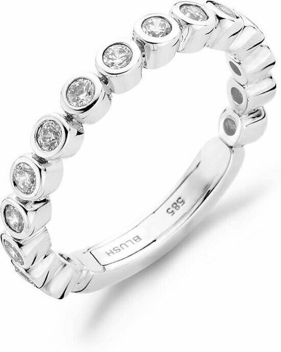 Blush ring 14 kt goud met zirconia 1049wzi