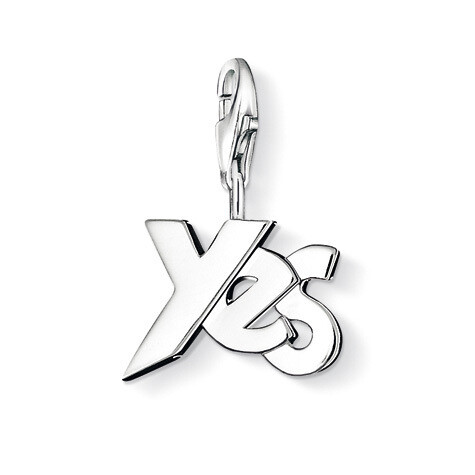 "Thomas Sabo Charm 0720 ""YES"""