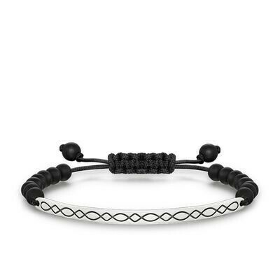 Thomas Sabo armband Love Bridge LBA0011 zwart