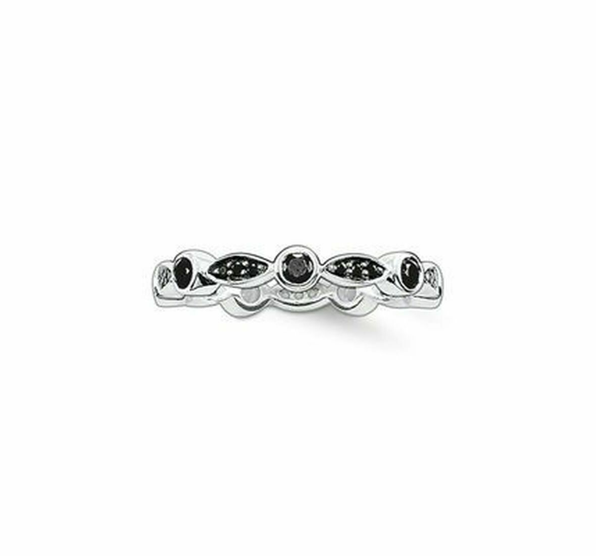 Thomas Sabo TR1985 ring zwart
