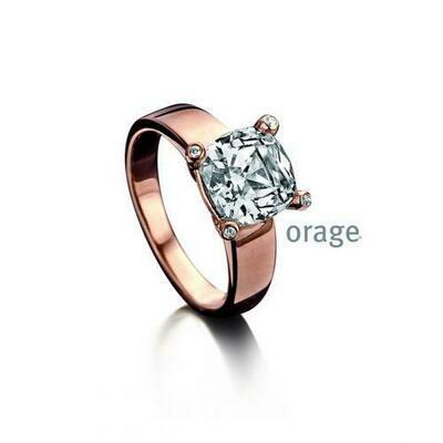 Orage ring AA060 rosé