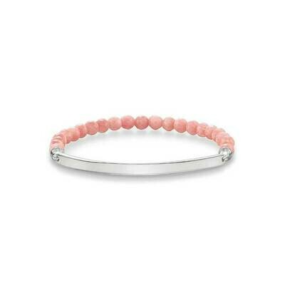 Thomas Sabo armband Love Bridge LBA0001 zalmroze