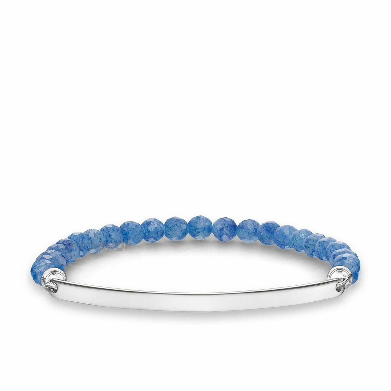 Thomas Sabo armband Love Bridge LBA0001 blauw