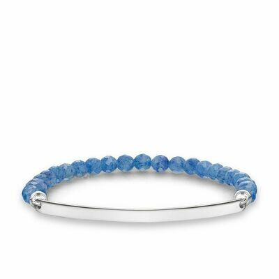 Thomas Sabo armband Love Bridge LBA0001 blauw