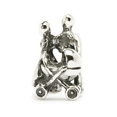 Trollbeads zilveren kraal Gezin tagbe-20034