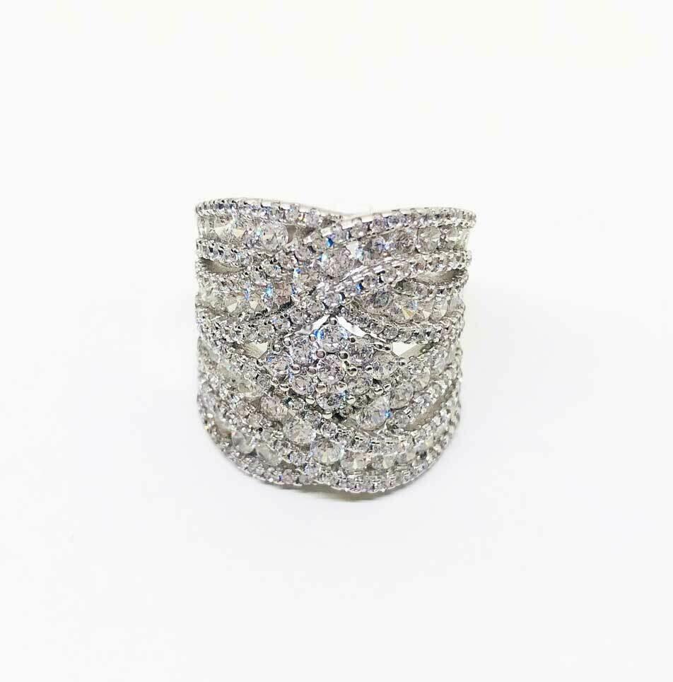 Ring CR272 zilver