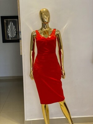 P Kelso Red Dress