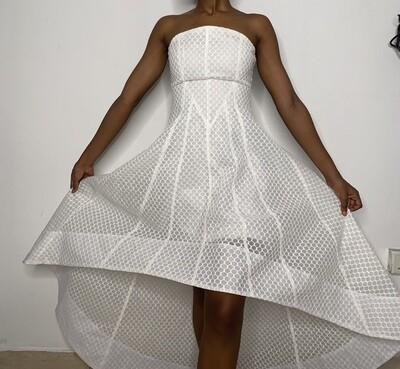 White Fashionova Dress