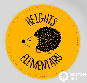 Heights Stickers