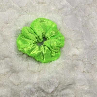 Velours de panne - Fluor groen