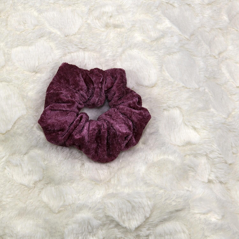 Velours de panne - Fuchsia