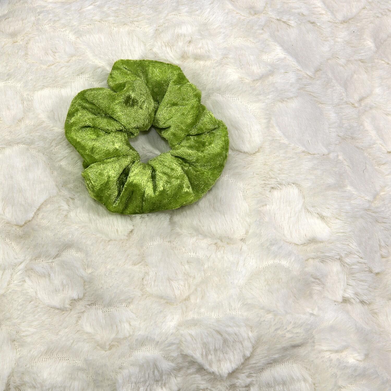 Velours de panne - Lime