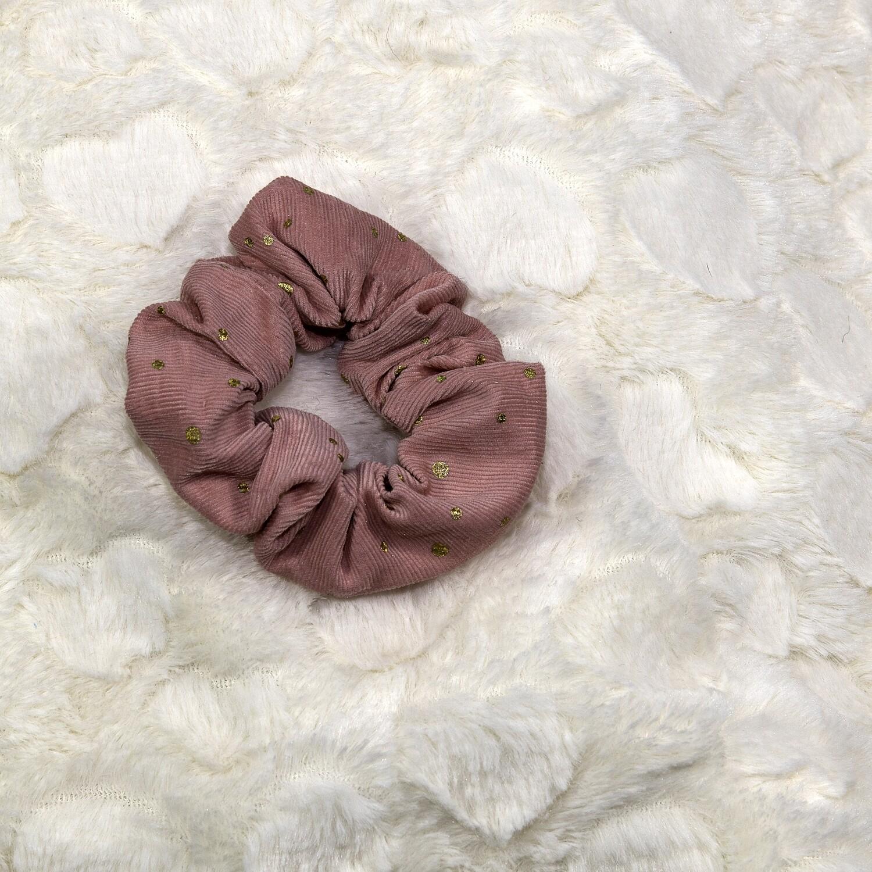 Dots ribfluweel - roos