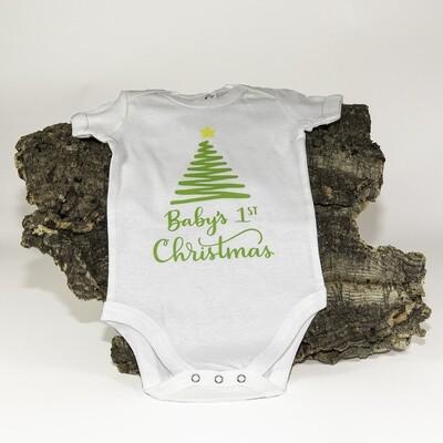 "Body ""Baby's 1st Christmas"""""