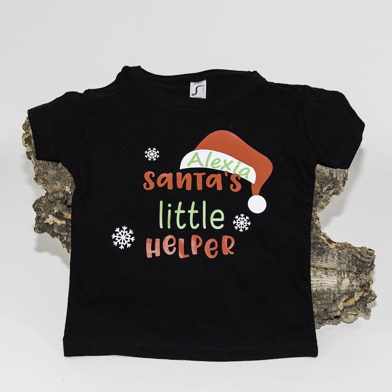 """T-shirt """"Santa's little helper"""""""