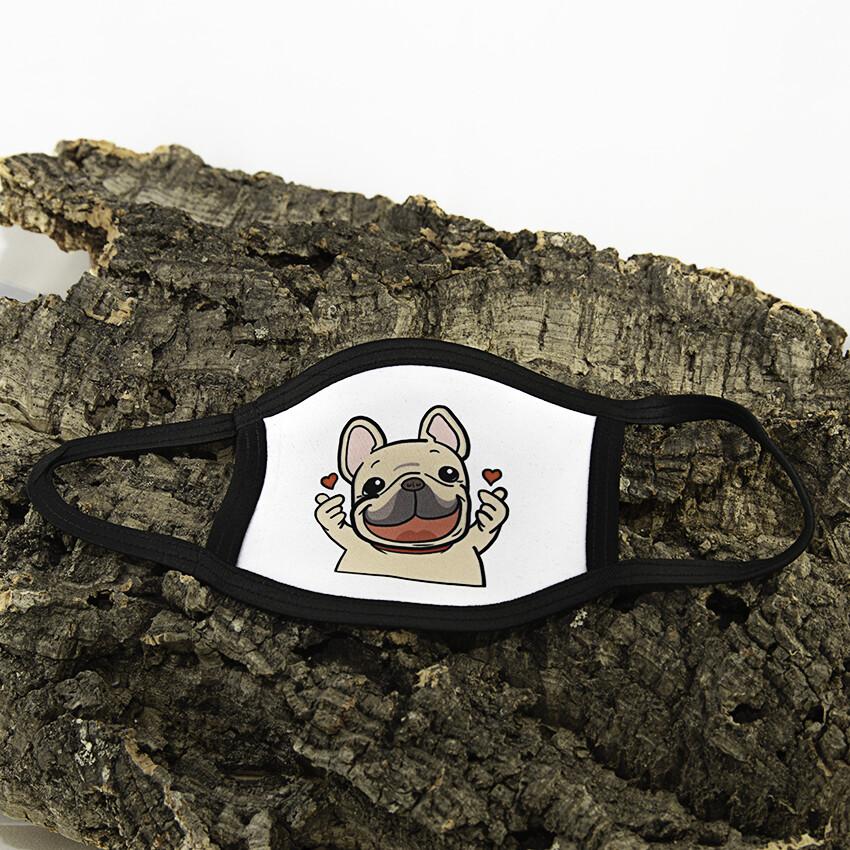 Mondmasker Kind - Hond Hartjes