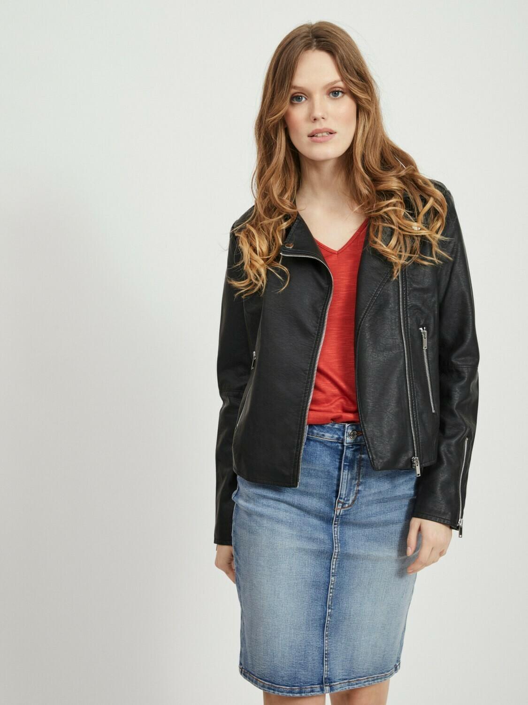 Vicara fake leather jacket