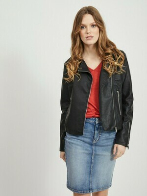 Vicara fake leather jacket