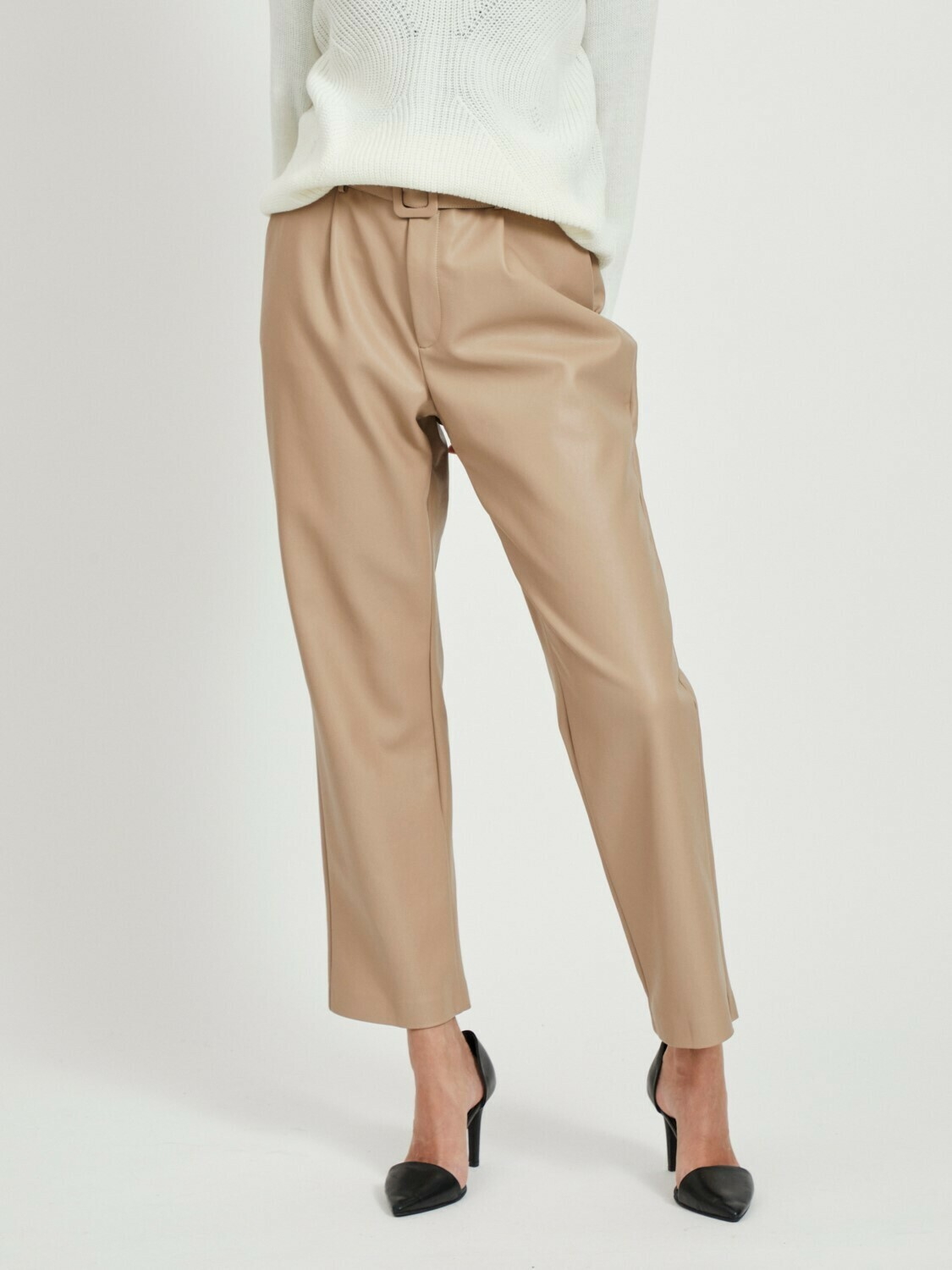Vitylda Pu Leather pants