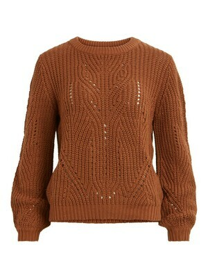 Viwishi knit o neck