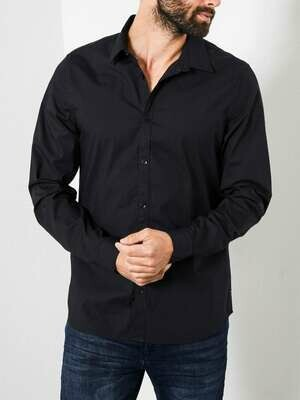 Classic hemd black