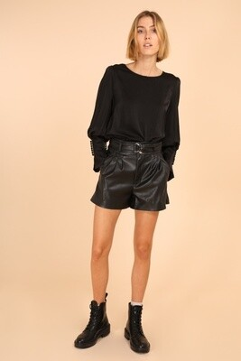 PU leatherlook short Kate