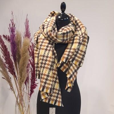 Geruiten sjaal