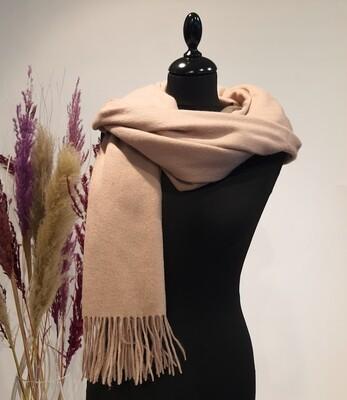 Sjaal licht roze