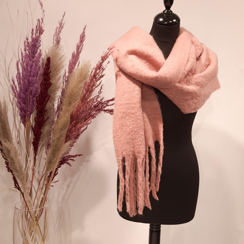 Sjaal roze