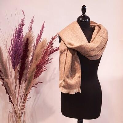 Sjaal beige
