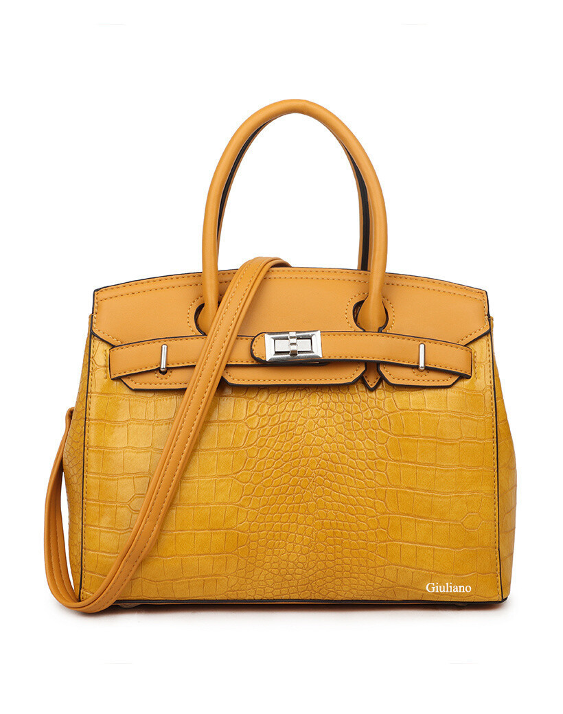 Handtas Aila (In Yellow & Apricot)