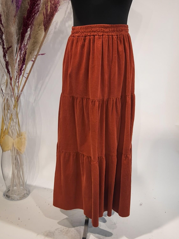 Velvet skirt Gertrude