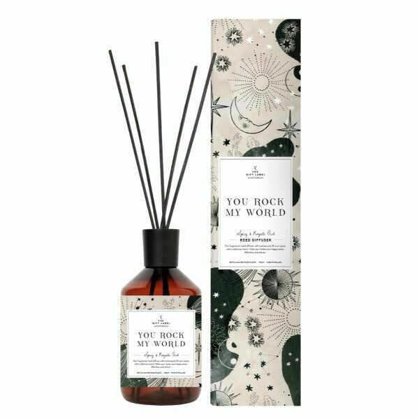 Reed diffuser Spicy and royal oud. - You rock my world
