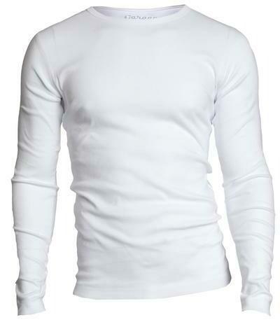 Basic Longsleeve o-neck T-shirt (Zwart, wit, grijs)