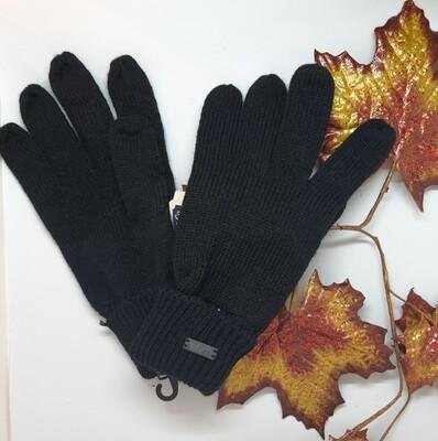Handschoenen Petrol Zwart