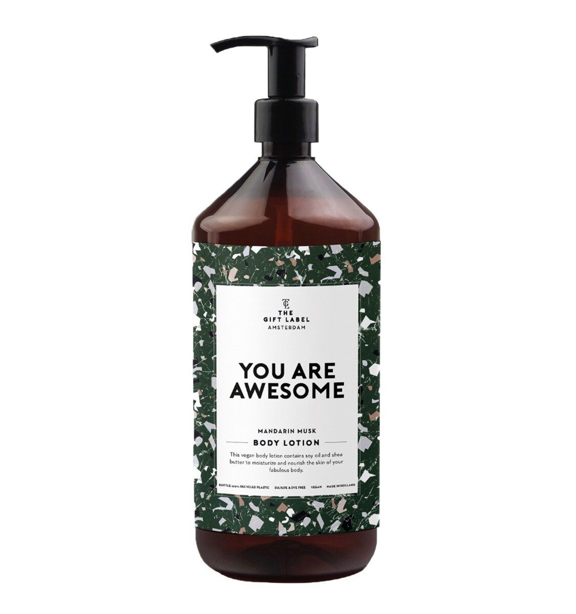 "Bodylotion 1 liter ""You are awesome"""