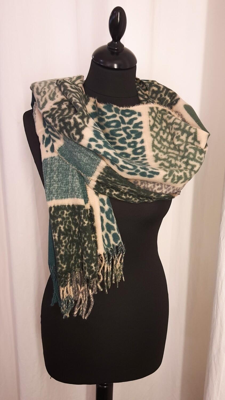Sjaal animal groen