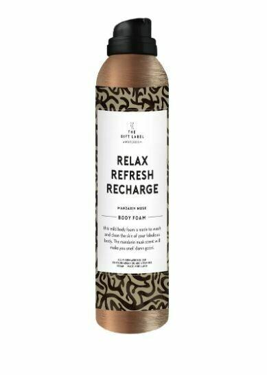 "Bodyfoam ""Relax, Refresh, Recharge"""