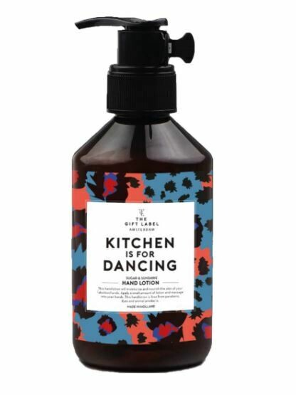 "Handlotion ""Kitchen is for dancing"""
