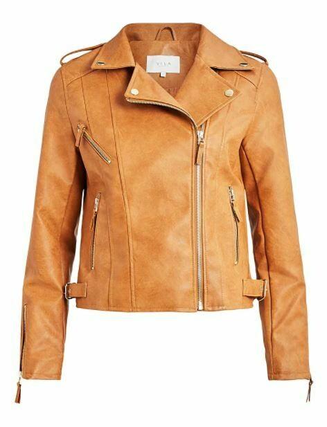 ViMiccas Pu leather jacket