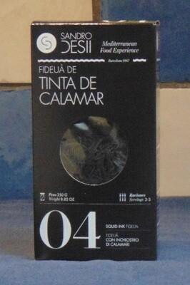 FIDEUÀ TINTA DE CALAMAR (INKTVIS) – SPANJE (CATALUNIË)