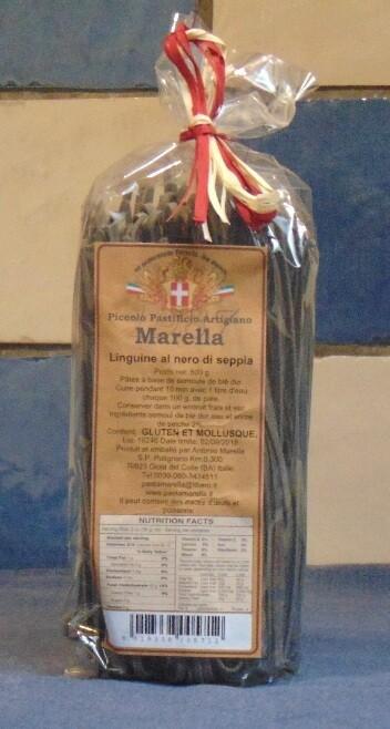 LINGUINE NERO DI SEPPIA – MARELLA – ITALIË (ABRUZZO)