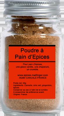 POUDRE À PAIN D'EPICES – ROELLINGER
