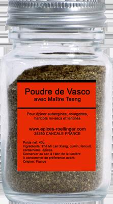 POUDRE DE VASCO AVEC MAITRE TSENG – ROELLINGER