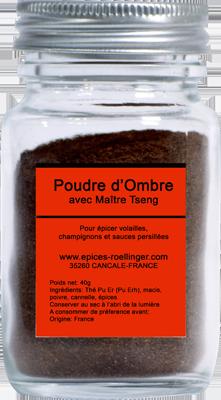 POUDRE D'OMBRE AVEC MAITRE TSENG – ROELLINGER