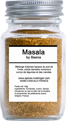 POUDRE MASALA BY BEENA – ROELLINGER