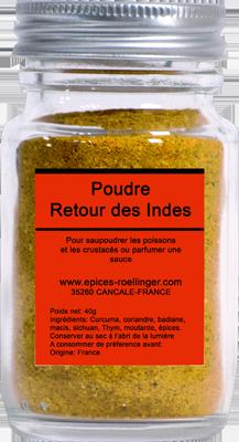 POUDRE RETOUR DES INDES – ROELLINGER
