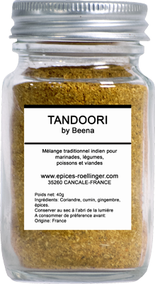 POUDRE TANDOORI BY BEENA – ROELLINGER