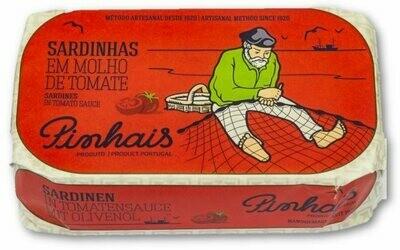 Sardientjes in tomatensaus-Pinhais