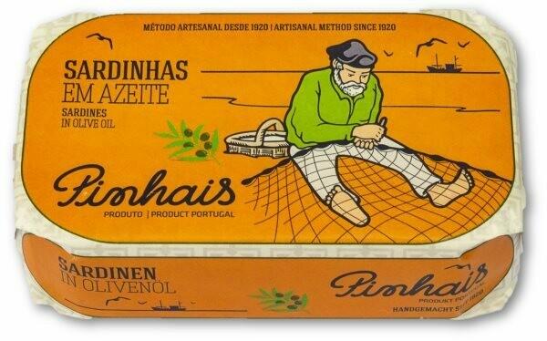 Sardientjes in olijfolie-Pinhais